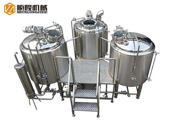 Système de brasserie de bière Micro Brewery 1000L