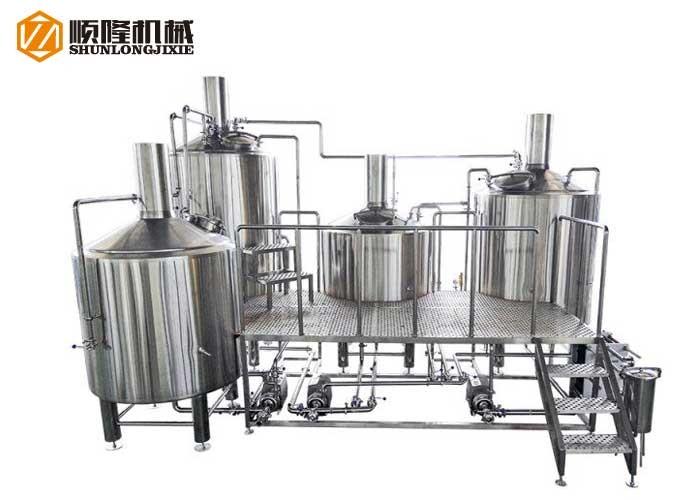 Système de brasserie de bière avec grande chaîne de production de bière 2000L