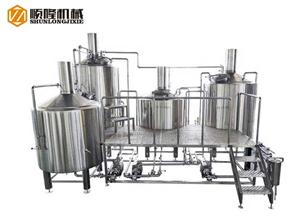 2000L Large Beer Production Line Beer Brewery System