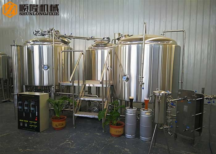 1500L Craft Beer Production Line
