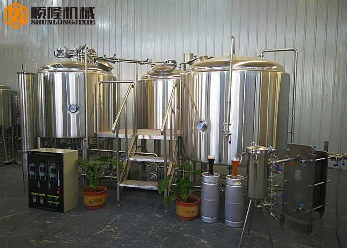 Ligne de production de bière artisanale 1500L