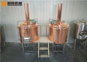 500L Home Brewing Machine Small Beer Brewing Equipment For Sale