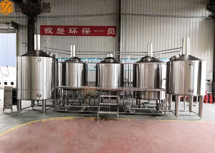 Beer Factory Equipment 2000L Micro Beer Brewing System Beer Machine For Sale