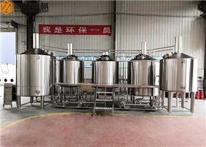 Machine micro de bière de système d'infusion de bière de l'équipement 2000L d'usine de bière à vendre