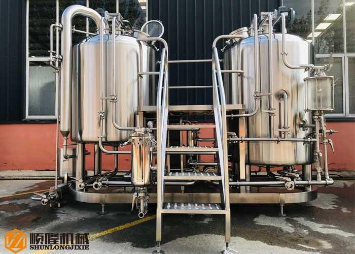 Brauerei-Ausrüstungs-kleine Bier-Maschinerie-Brauerei 500L