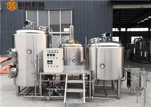 Industrial Business Beer Brewing System 2000L Large Beer Brewery Equipment For Sale
