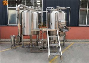 Petite bouilloire électrique de brassage de bière de l'équipement 3BBL de brassage de bière
