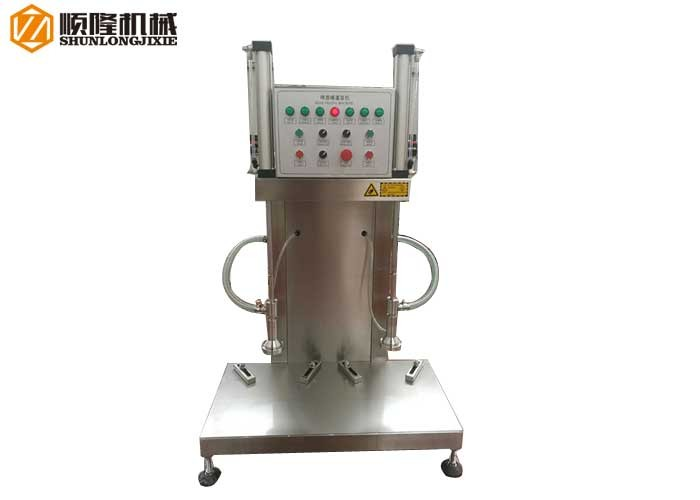 PLC Auto Control Two Heads Beer Keg Filling Machine
