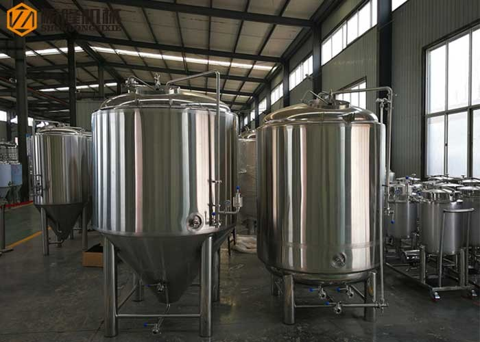 Conical Bright Beer Tanks Stainless Steel Beer Bright Tanks