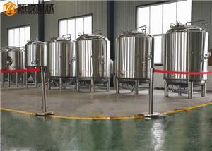 Double Jacket Bright Beer Tanks Stainless Steel Bright Beer Tanks