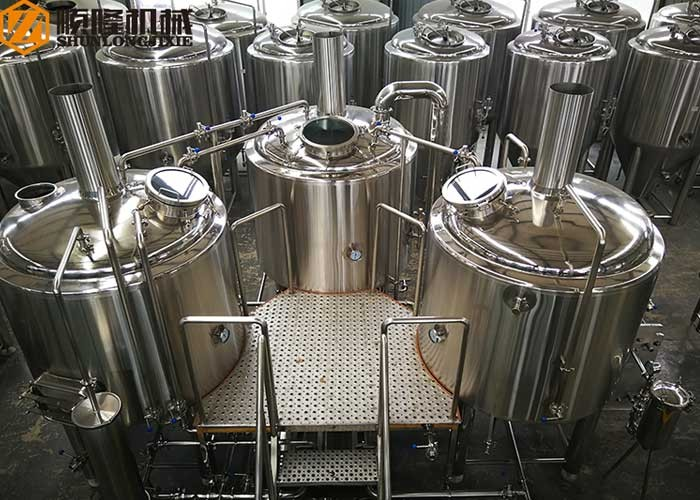 1000L Beer Making Machine Beer Factory Equipment 10HL Small Beer Brewery System