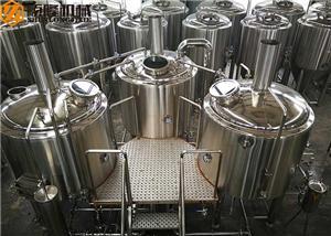 Bière de 1000L faisant le petit système 10HL de brasserie de bière d'équipement d'usine de bière de machine