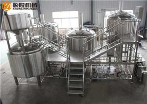 China Beer Manufacturing Plant 3000L Large Beer Brewery Equipment