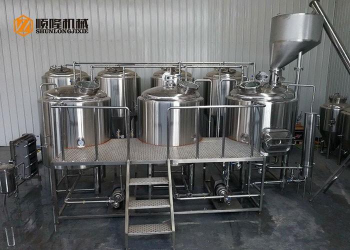 Микроволновая пивоварня под ключ 10BBL Пивоваренное оборудование