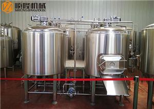 1000L Commercial Beer Brewing Equipment Four Vessel Brewhouse Brewery Equipment Plant