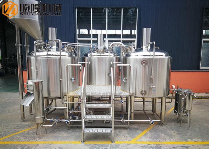 Chaîne de production complète de bière de brasserie de pub 10BBL Micro Brewing Equipment