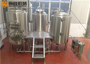 Complete Beer Production Line 500L Micro Beer Brewery Equipment For Sale