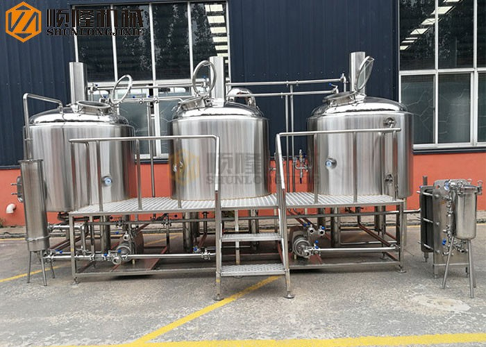 3 Vessel Beer Brewhouse For The 10bbl Brewery System
