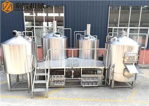 Équipement d'usine de bière de système de brasserie 1000L