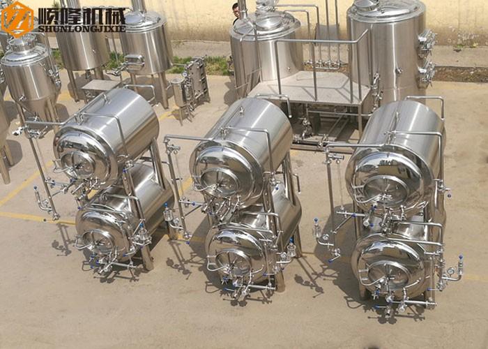 Horizontal Stainless Steel Bright Beer Tanks