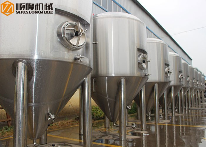 Stainless Steel Conical Beer Fermentation Tanks