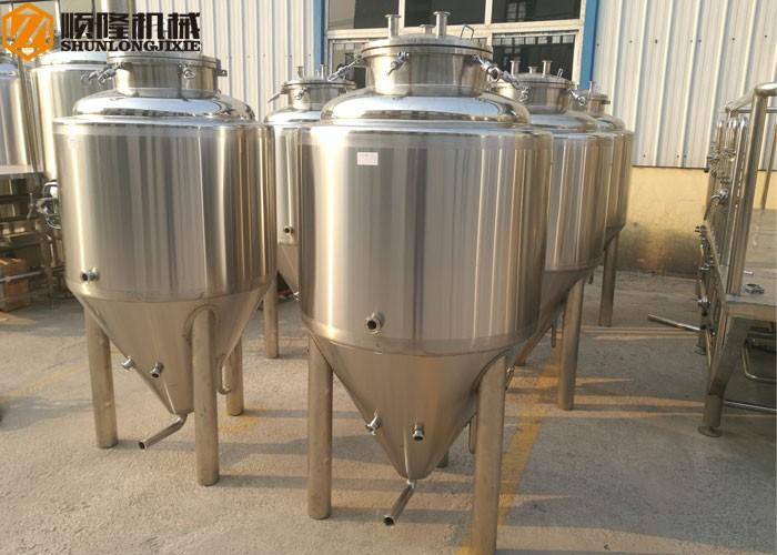 Mini fermenteurs coniques à bière en acier inoxydable