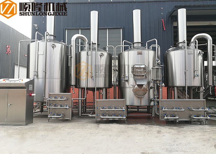 2000L Beer Brewing Vessel Pequeño Beer Factory Equipment Beer Brewery System