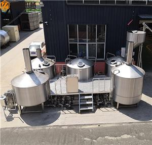 5000 LITERS BEER BREWERY EQUIPMENT READY TO DELIVERY