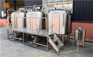 1000L industrial beer brewing equipment