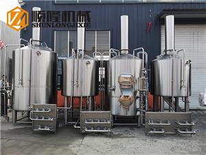 2000L beer brewery equipment with free overseas service