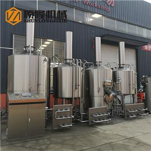 2000L industrial beer brewery equipment for sale
