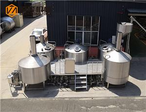 3000L beer brewery equipment with 5 vessels