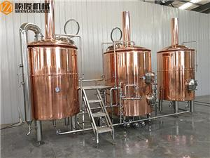 500L beer restaurant brewery equipment with 3 vessels