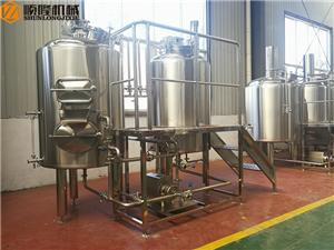 300L micro beer brewing equipment with 2 vessels