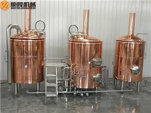 500L professional beer brewery equipment with 3 vessels for sale