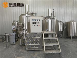 mini 300L beer brewery equipment for sale