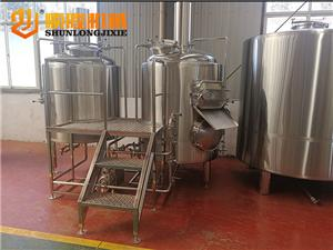 mini 300L craft beer brewing equipment