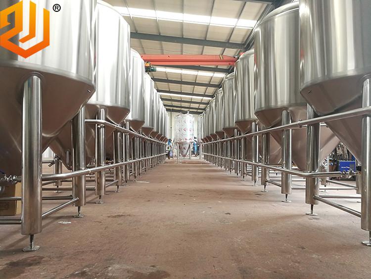 2 tons industrial beer fermentation tanks