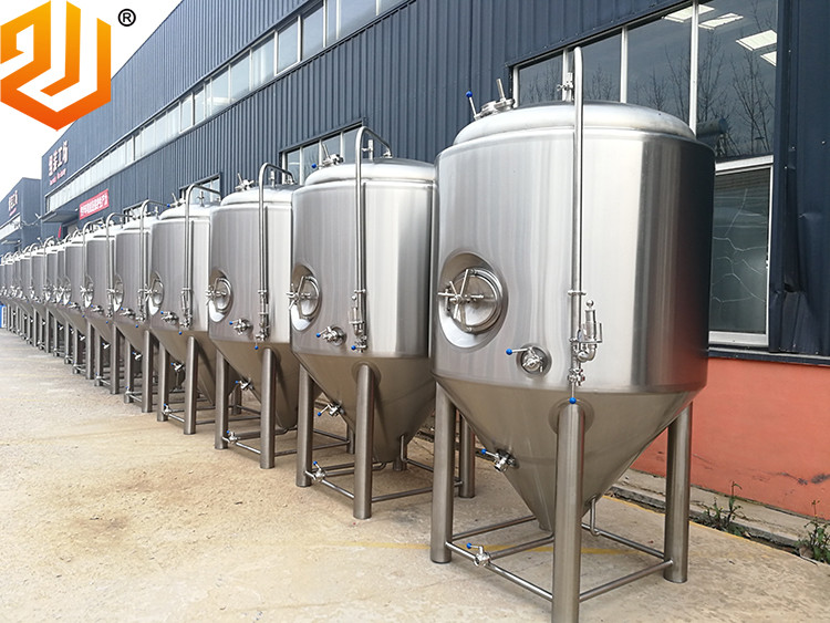 2 tons beer fermentation tanks