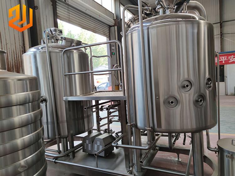 Équipement de brassage de bière 500L 2 navires