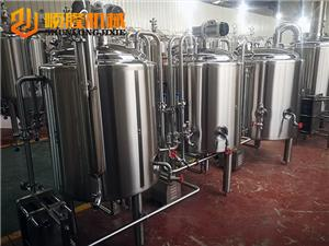 200L 2 vessels beer brewery equipment
