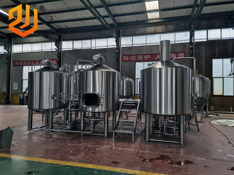 1 Tonne 5-Gefäß-Bierbrauanlage
