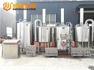 4 vessels 1000L beer brewery equipment