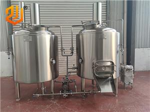 mini 200L 2 vessels beer brewery equipment