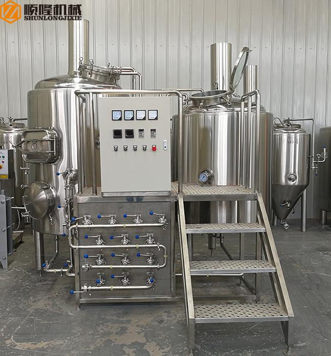 traditionele bierbrouwapparatuur van 500 liter