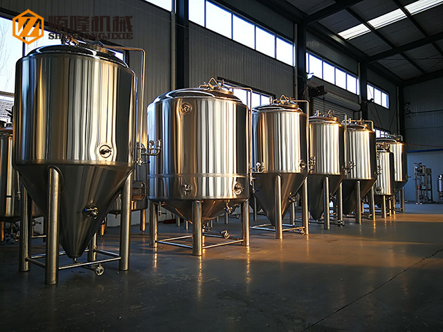 2000L kommerzieller Biergärtank