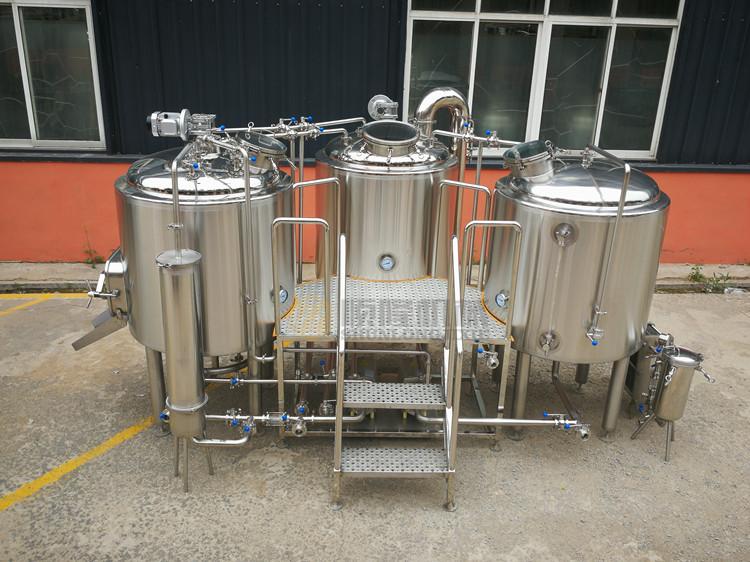 500L3 schepen bier commerciële brouwerijuitrusting