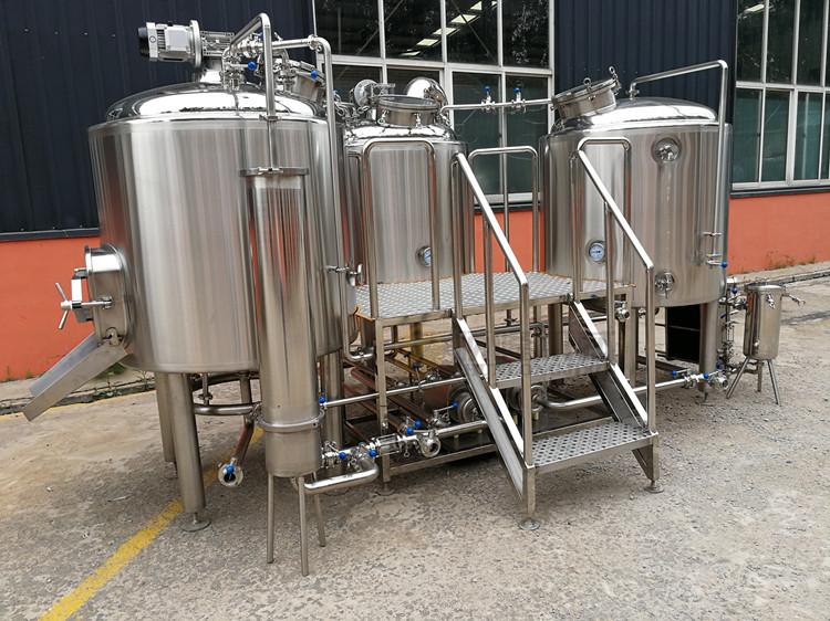 500L ambachtelijke industriële bierbrouwerijapparatuur