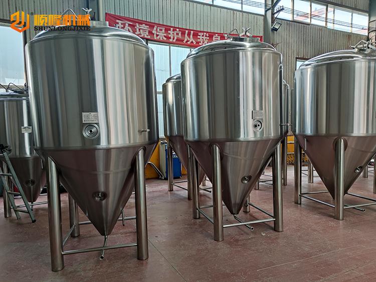 3 ton traditionele biergistingstank