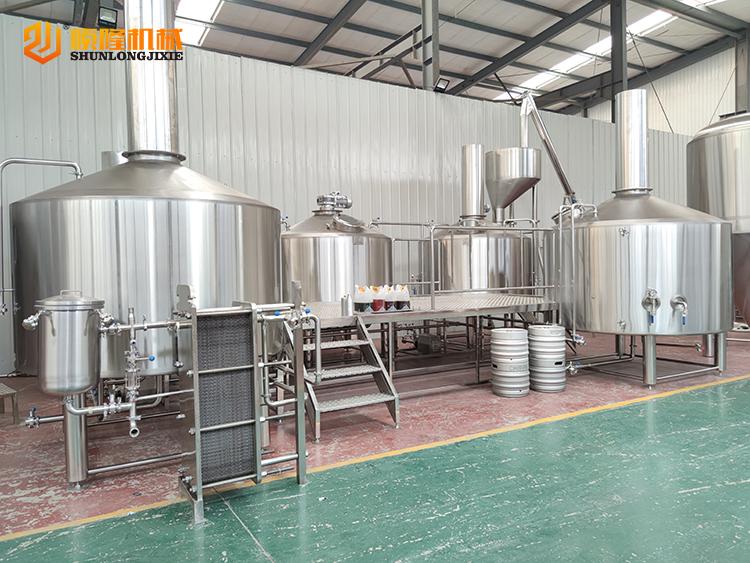 roestvrijstalen fabriek 5000L professionele bierbrouwapparatuur te koop
